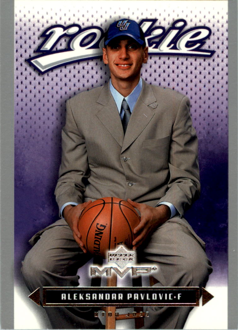 2003-04 Upper Deck MVP Silver #219 Aleksandar Pavlovic