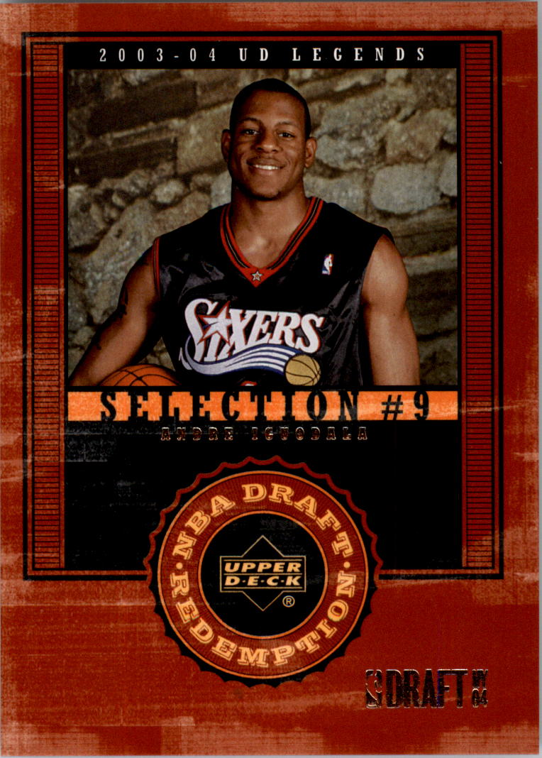 2003-04 Upper Deck Legends #144 Andre Iguodala XRC