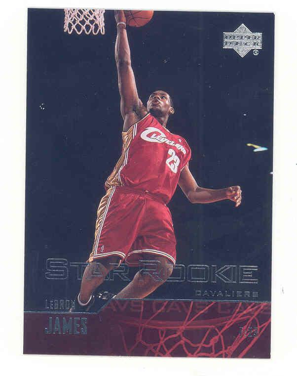 2003-04 Upper Deck #301 LeBron James RC