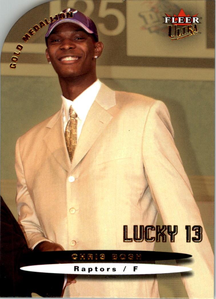 2003-04 Ultra Gold Medallion #174 Chris Bosh L13