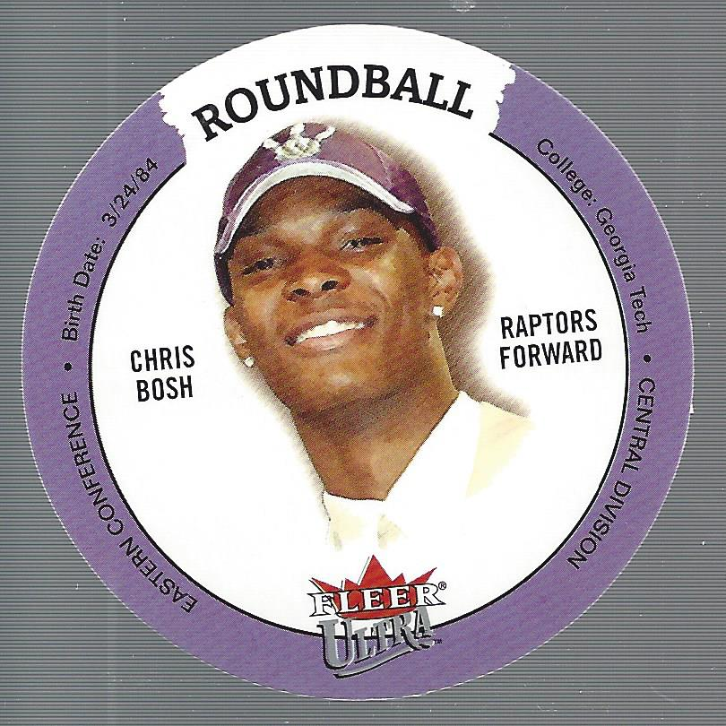 2003-04 Ultra Roundball Discs #34 Chris Bosh