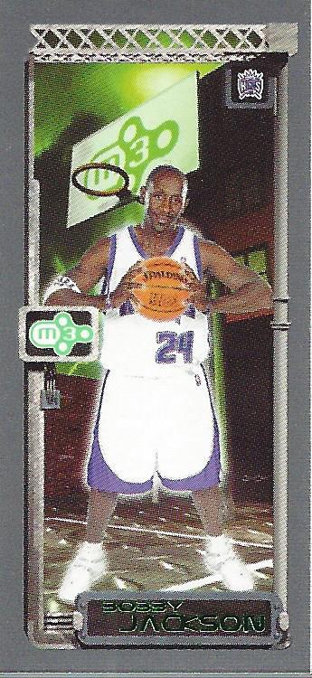 2003-04 Topps Rookie Matrix Minis #4 Bobby Jackson