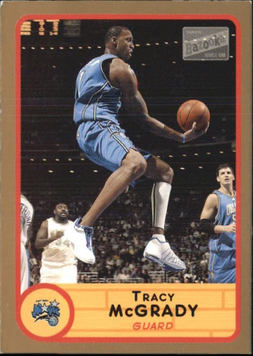 2003-04 Bazooka Parallel #1A Tracy McGrady