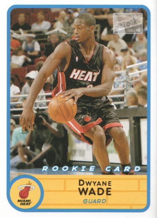 2003-04 Bazooka Mini #252A Dwyane Wade