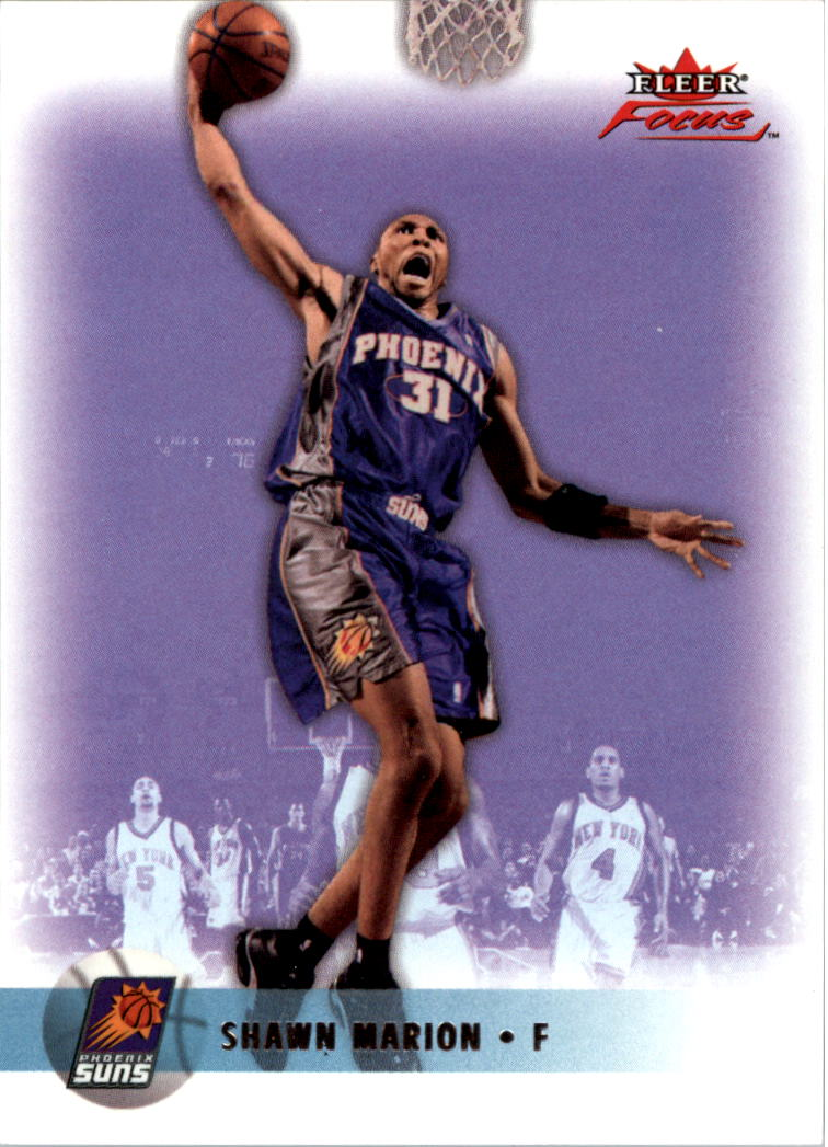 2003-04 Fleer Focus Numbers Decade #73 Shawn Marion