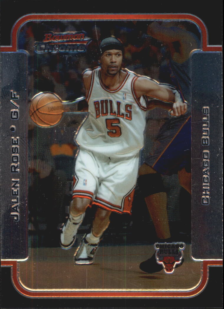 2003-04 Bowman Chrome #4 Jalen Rose