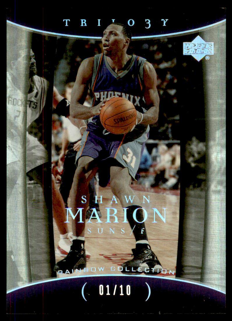 2004-05 Upper Deck Trilogy Spectrum #78 Shawn Marion