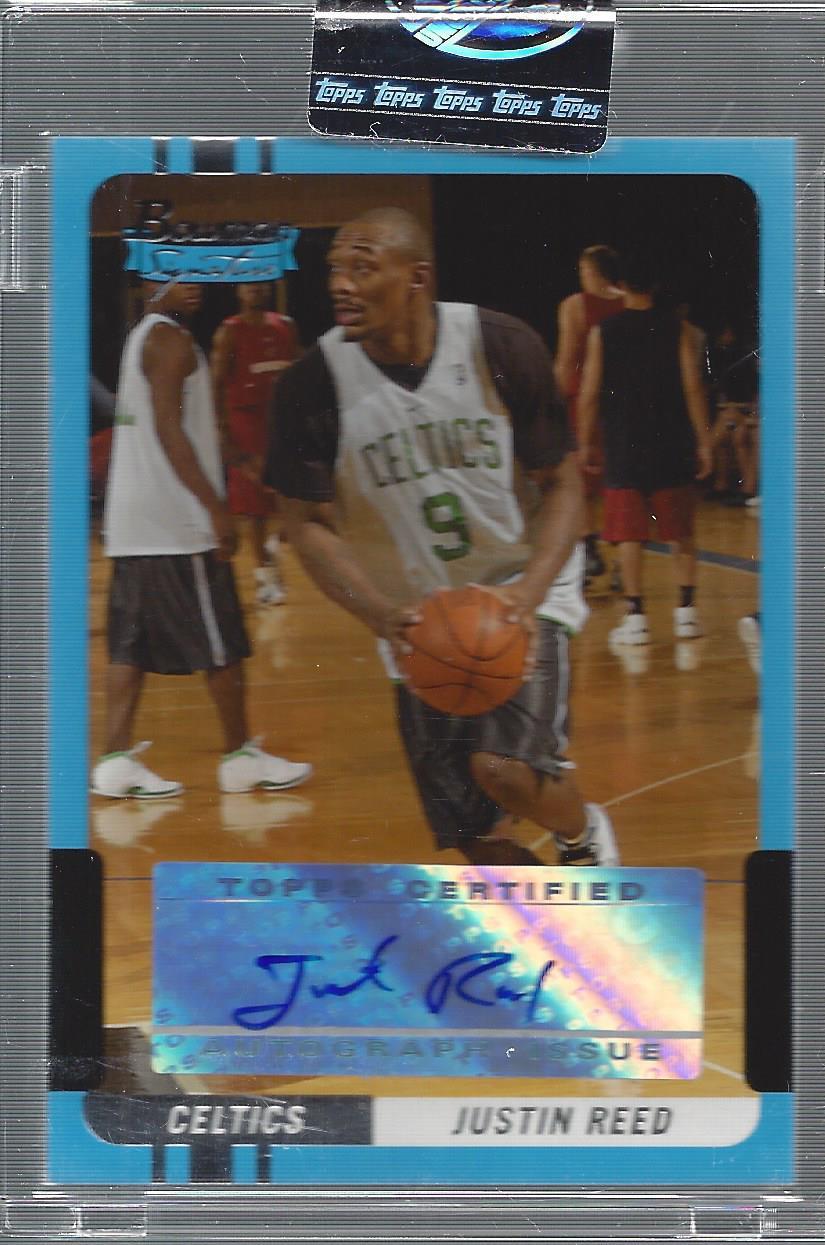 2004-05 Bowman Signature Edition #91 Justin Reed AU RC