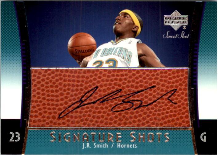 b3f56bbcf 2004-05 Sweet Shot Signature Shots  JR J.R. Smith