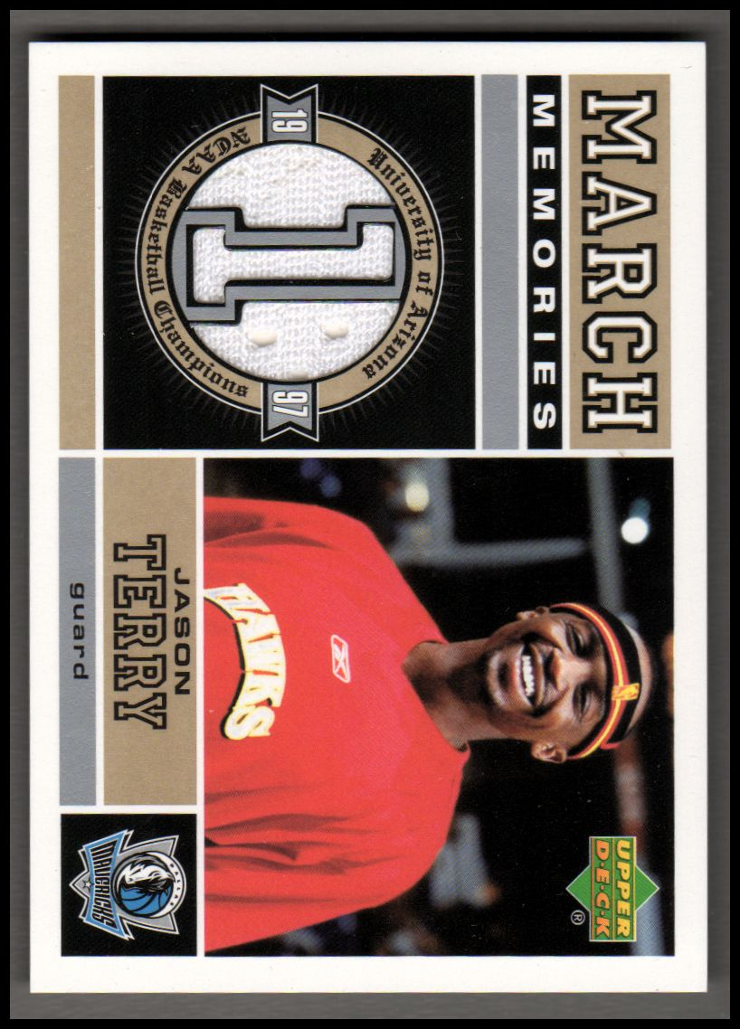 2004-05 Upper Deck March Memories #JT Jason Terry