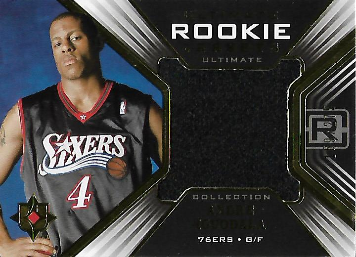 2004-05 Ultimate Collection Rookie Jerseys #AI Andre Iguodala