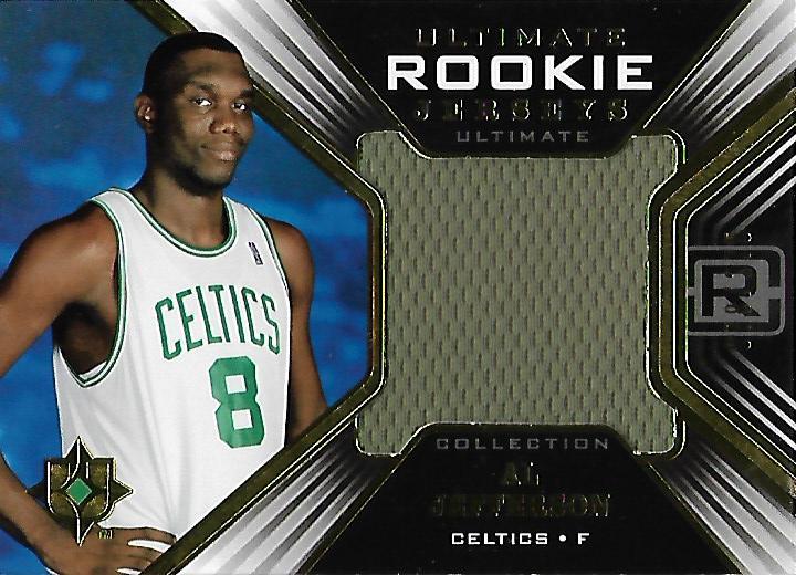 2004-05 Ultimate Collection Rookie Jerseys #AJ Al Jefferson