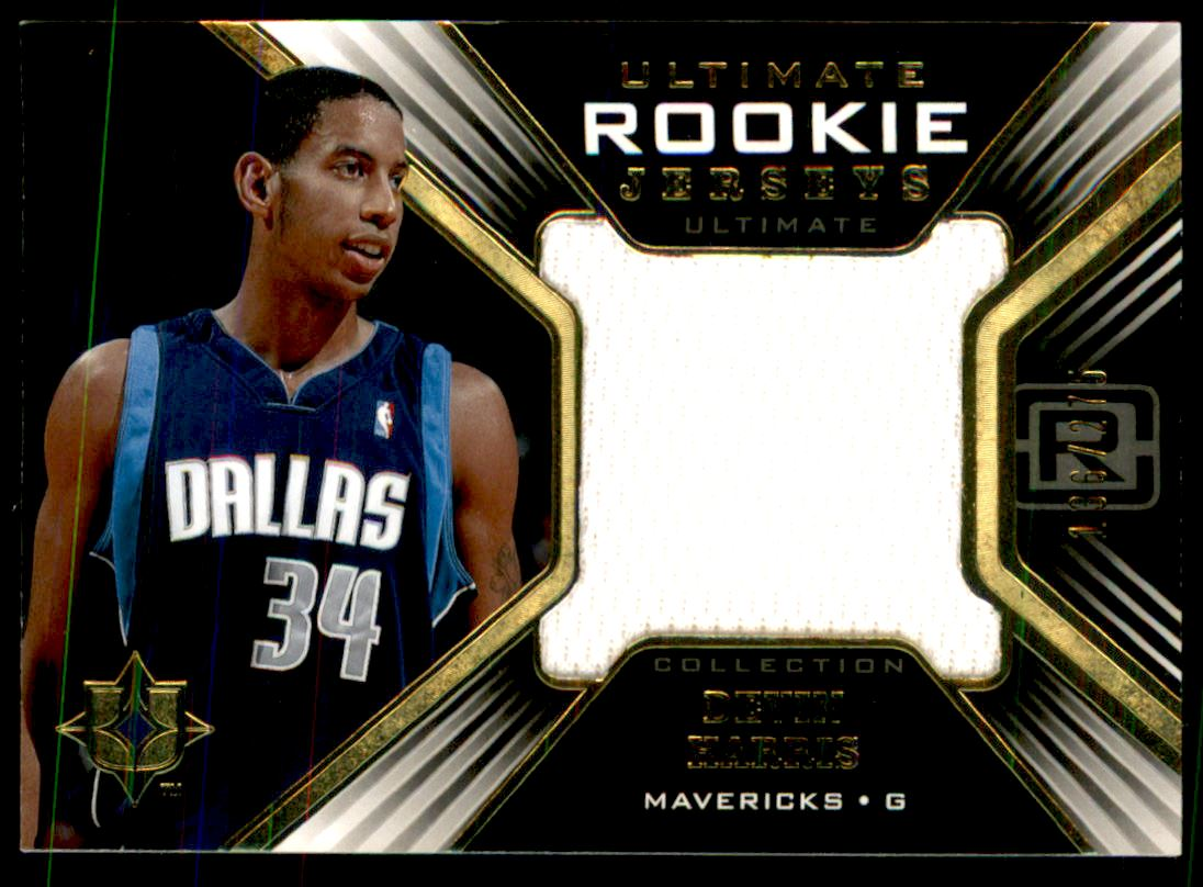 2004-05 Ultimate Collection Rookie Jerseys #DE Devin Harris
