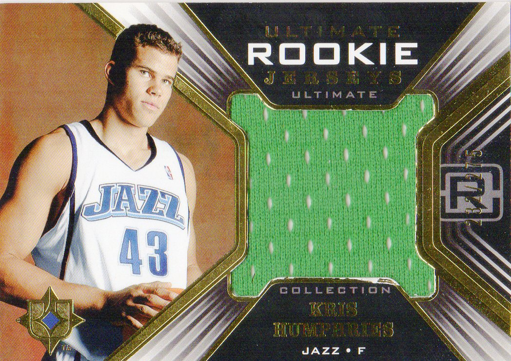 2004-05 Ultimate Collection Rookie Jerseys #KH Kris Humphries