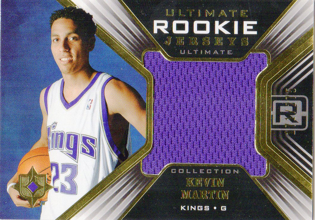 2004-05 Ultimate Collection Rookie Jerseys #KM Kevin Martin