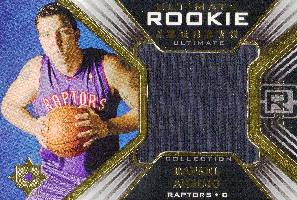 2004-05 Ultimate Collection Rookie Jerseys #RA Rafael Araujo