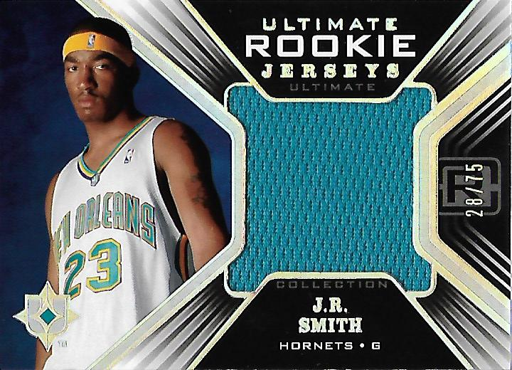 2004-05 Ultimate Collection Rookie Jerseys Parallel #JR J.R. Smith