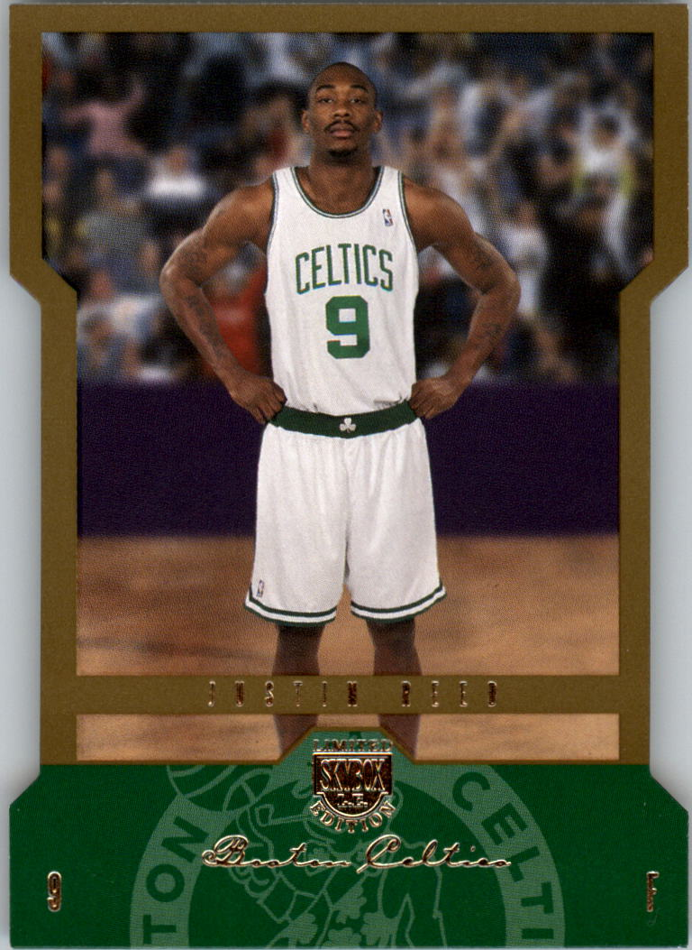 2004-05 SkyBox LE 150 #115 Justin Reed