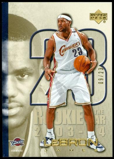 2005-06 Upper Deck LeBron James Gold #LJ33 LeBron James