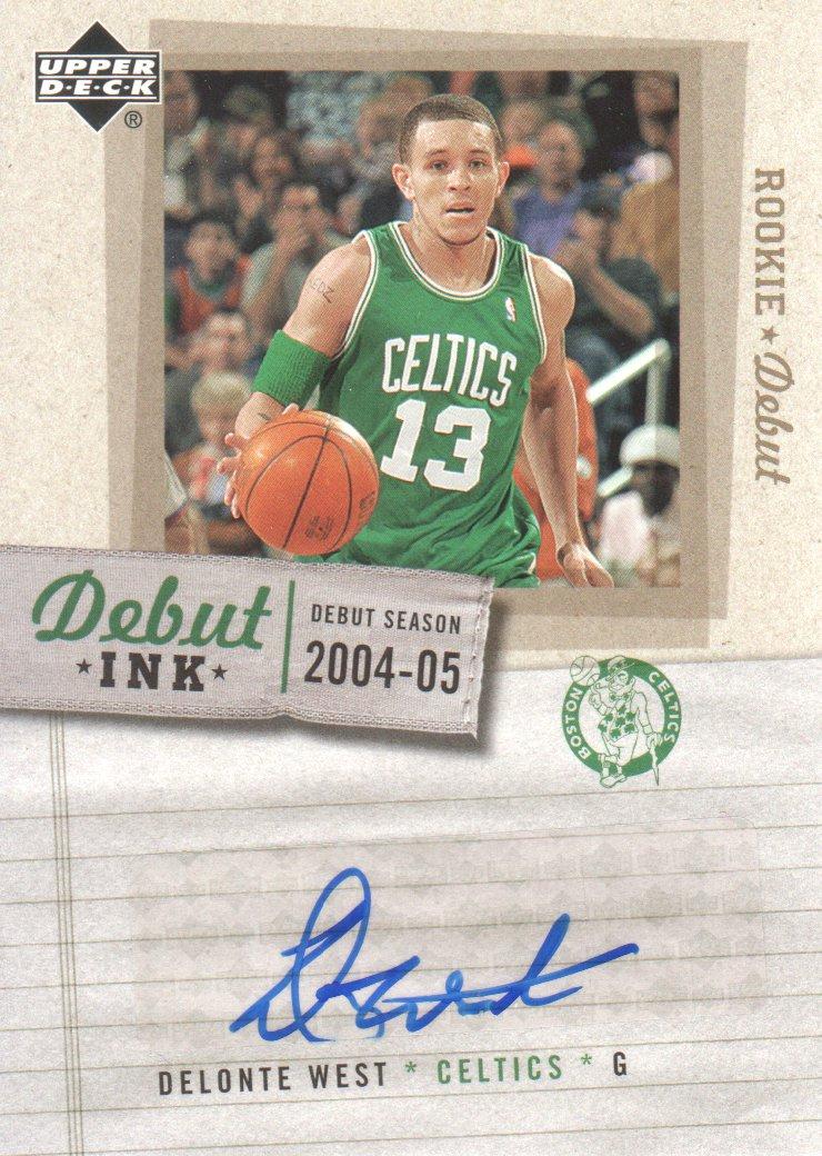 2005-06 Upper Deck Rookie Debut Ink #WE Delonte West