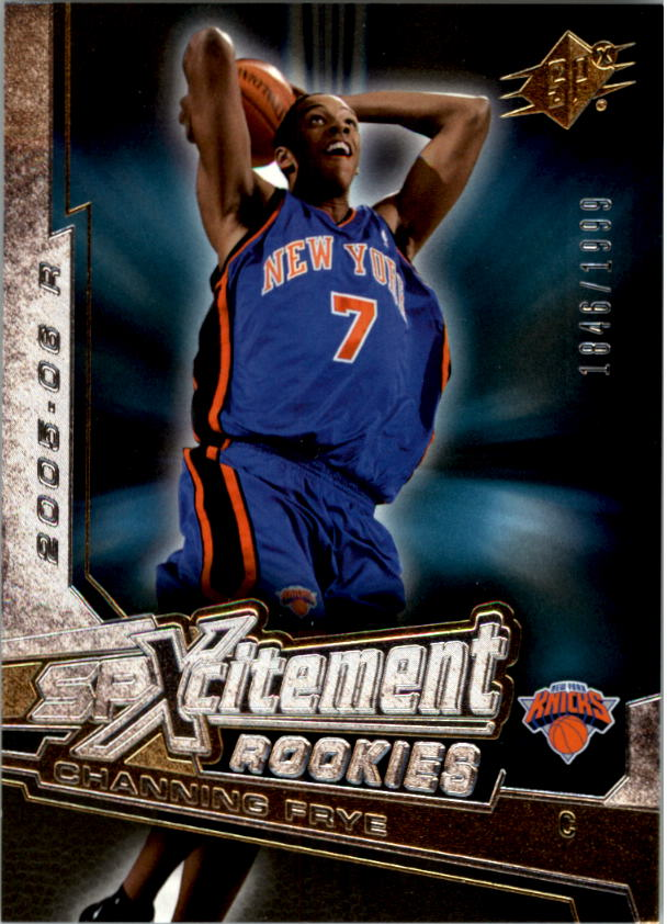 2005-06 SPx SPxcitement Rookies #XCR14 Channing Frye