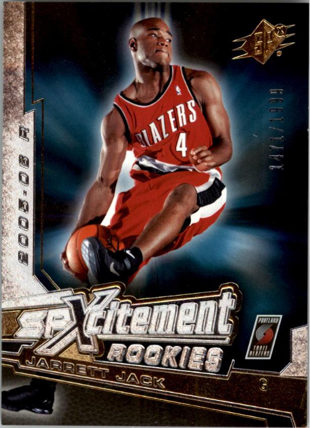 2005-06 SPx SPxcitement Rookies #XCR20 Jarrett Jack