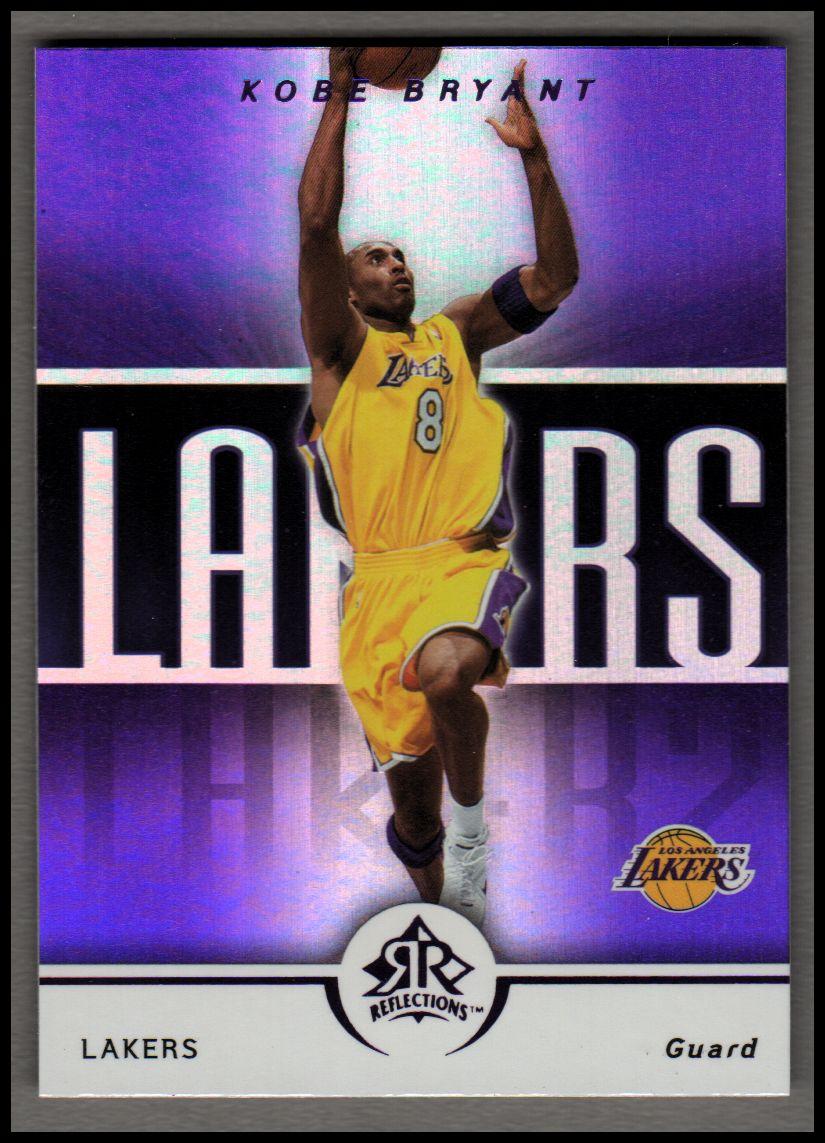 2005-06 Reflections Purple #44 Kobe Bryant