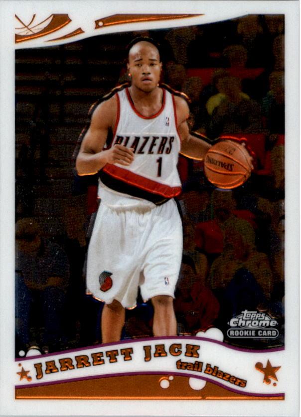 2005-06 Topps Chrome #178 Jarrett Jack RC