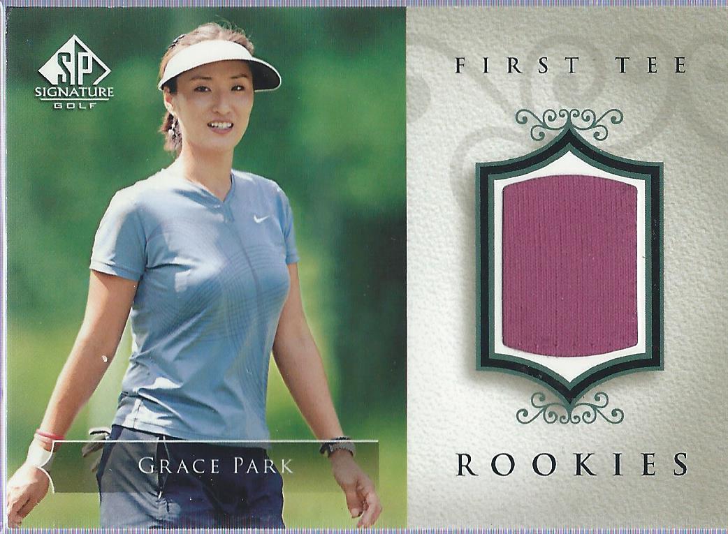 2004 SP Signature #50 Grace Park Shirt RC