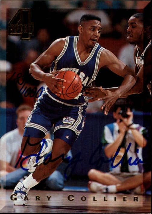 1994 Classic Four Sport Autographs #42A Gary Collier/1000