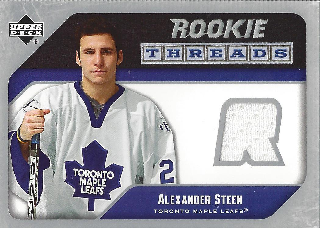 2005-06 Upper Deck Rookie Threads #RTST Alexander Steen