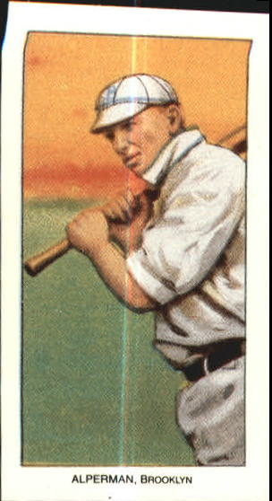 1909-11 T206 #6 Whitey Alperman