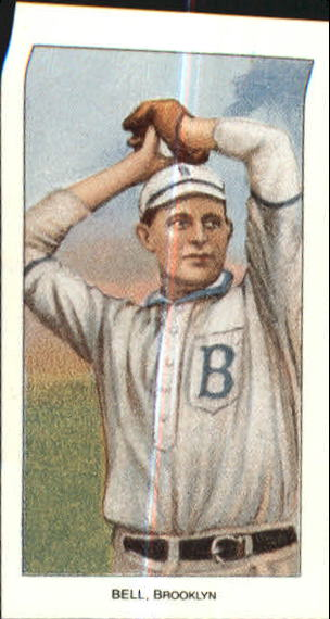 1909-11 T206 #31 George Bell/Hands above Head