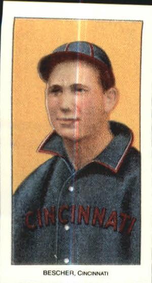 1909-11 T206 #40 Bob Bescher/Portrait