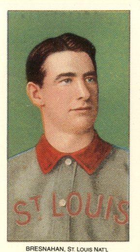1909-11 T206 #51 Roger Bresnahan/Portrait