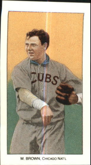 1909-11 T206 #58 Mordecai Brown/Cubs Shirt