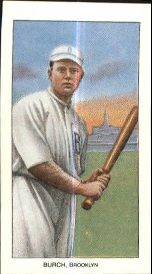 1909-11 T206 #60 Al Burch/Batting