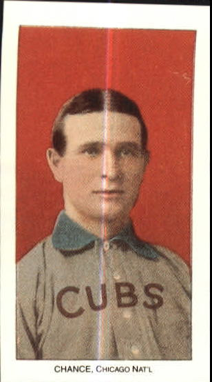 1909-11 T206 #78 Frank Chance/Portrait Red