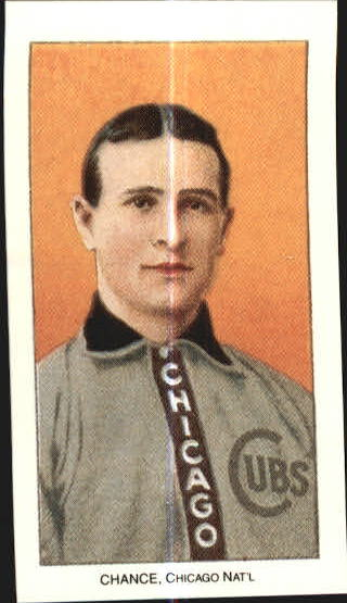 1909-11 T206 #79 Frank Chance/Portrait Yellow