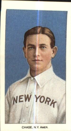 1909-11 T206 #84 Hal Chase/Portrait Blue