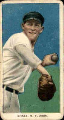 1909-11 T206 #82 Hal Chase/Throwing Dark Cap
