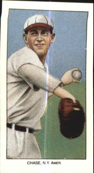 1909-11 T206 #86 Hal Chase/Throwing White Cap
