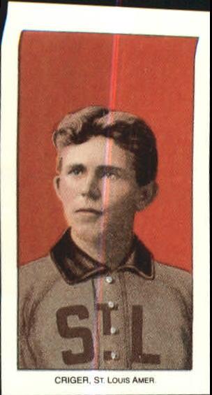 1909-11 T206 #113 Lou Criger
