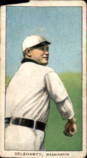 1909-11 T206 #123 Jim Delehanty