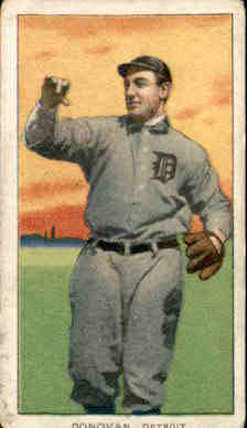 1909-11 T206 #135 Wild Bill Donovan/Throwing