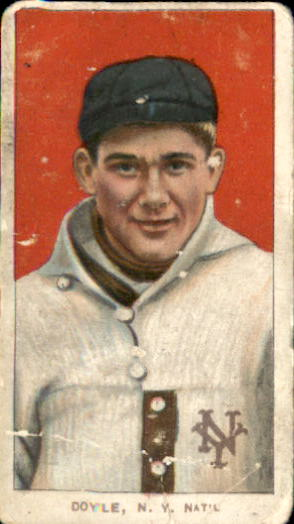 1909-11 T206 #149 Larry Doyle Portrait