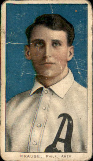 1909-11 T206 #265 Harry Krause/Portrait