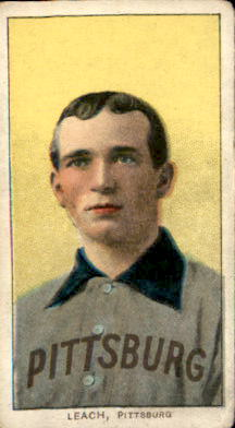1909-11 T206 #280 Tommy Leach/Portrait