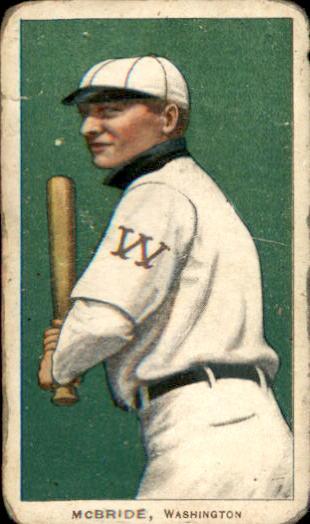 1909-11 T206 #312 George McBride
