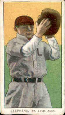1909-11 T206 #468 Jim Stephens